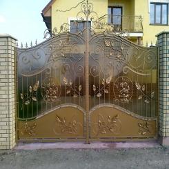 Кованые ворота КВ 46