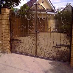 Кованые ворота КВ 47