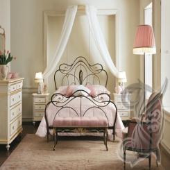 Кованая кровать КК 35