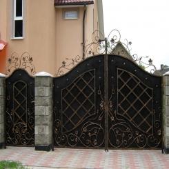 Кованые ворота КВ 49