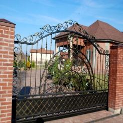 Кованые ворота КВ 50
