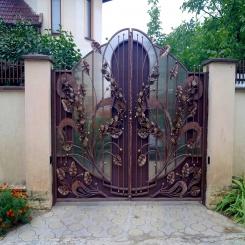 Кованые ворота КВ 51