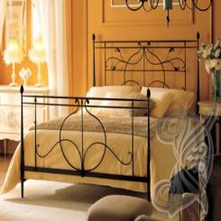 Кованая кровать двуспальная КК 38