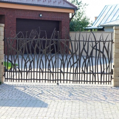Кованые ворота КВ 52