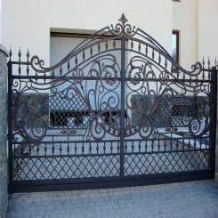 Кованые ворота КВ 53