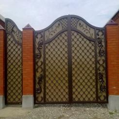 Кованые ворота КВ 54