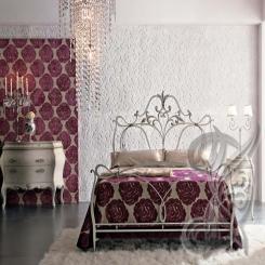 Кованая кровать КК 41
