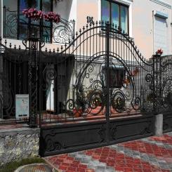 Кованые ворота КВ 20