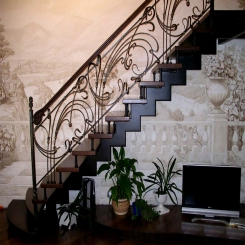 Кованые лестницы КЛ 44