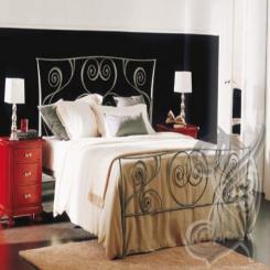 Кованая кровать КК 42