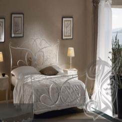 Кованая кровать КК 43