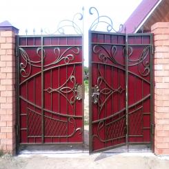 Кованые ворота КВ 57