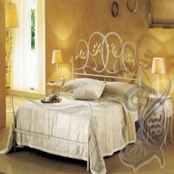 Кованая кровать КК 44