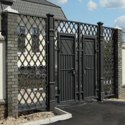 Кованые ворота КВ 58