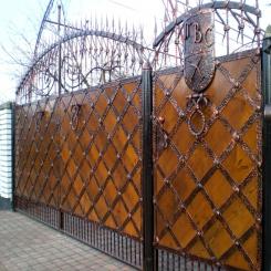 Кованые ворота КВ 59