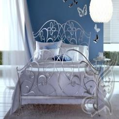 Кованая кровать КК 46