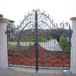 Кованые ворота КВ 60
