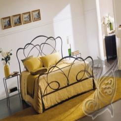 Кованая кровать КК 48