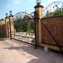 Кованые ворота КВ 62