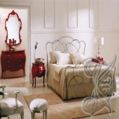 Кованая кровать КК 49