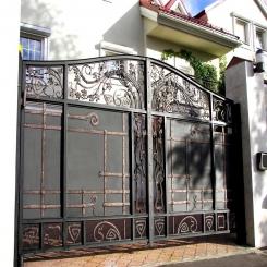 Кованые ворота КВ 63
