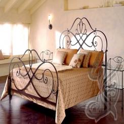 Кованая кровать КК 50