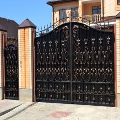Кованые ворота КВ 64