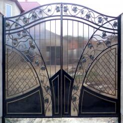 Кованые ворота КВ 65
