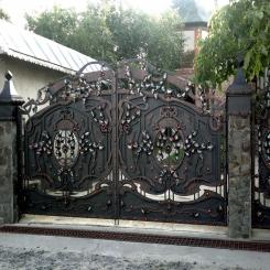 Кованые ворота КВ 21