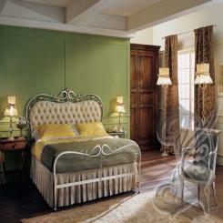 Кованая кровать КК 52
