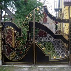 Кованые ворота КВ 66
