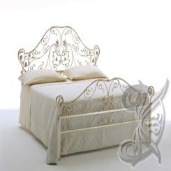 Кованая кровать КК 54