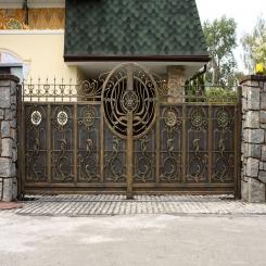 Кованые ворота КВ 68