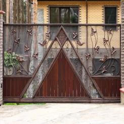 Кованые ворота КВ 69