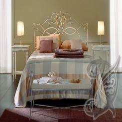 Кованая кровать КК 56