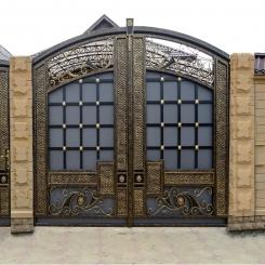 Кованые ворота КВ 71