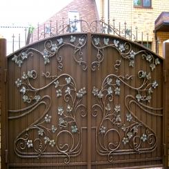 Кованые ворота КВ 72