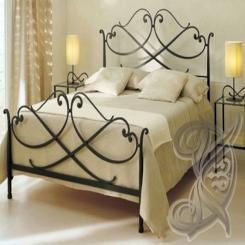 Кованая кровать КК 59
