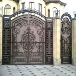 Кованые ворота КВ 73