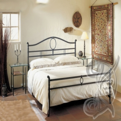 Кованая кровать КК 61