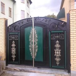 Кованые ворота КВ 75
