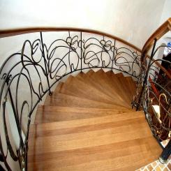 Кованые лестницы КЛ 46