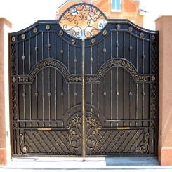 Кованые ворота КВ 76