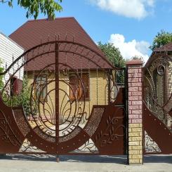 Кованые ворота КВ 78