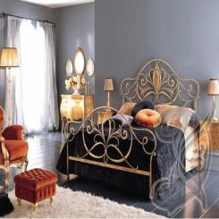 Кованая кровать КК 65