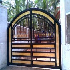Кованые ворота КВ 79