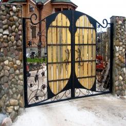 Кованые ворота КВ 80