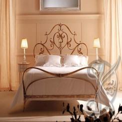 Кованая кровать КК 67