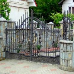Кованые ворота КВ 81