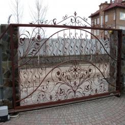 Кованые ворота КВ 82